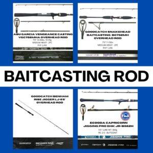 Baitcasting Rods