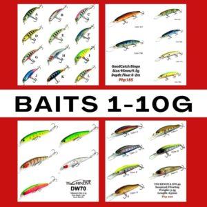 Baits 1-10g