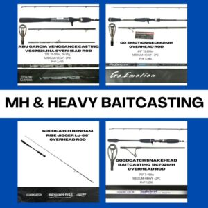 MH & Heavy Bait Casting