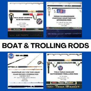Boat & Trolling Rods