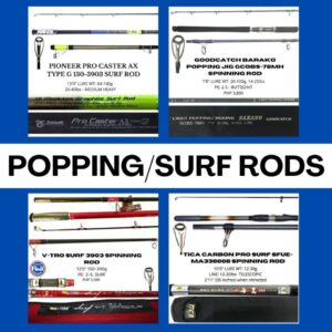 Popping/Surf Rods