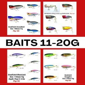 Baits 11-20g