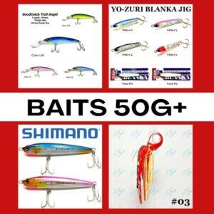 Baits 50g+